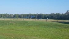 Outside view of dog park.